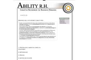 ABILITY RH