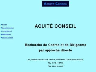 ACUITE CONSEIL