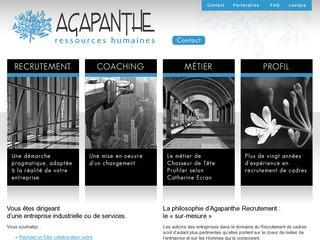 AGAPANTHE RECRUTEMENT
