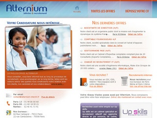 ALTERNIUM INTERIM & RECRUTEMENT - PARIS