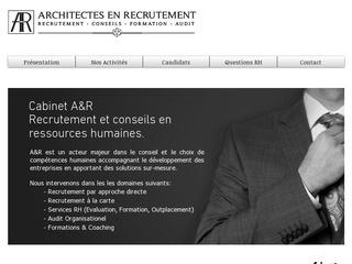 Cabinet A&R - Architectes en Recrutement