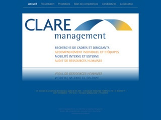 CLARE MANAGEMENT