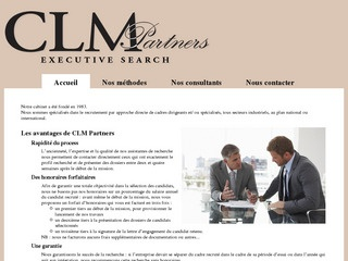 CLM PARTNERS EXECUTIVE SEARCH