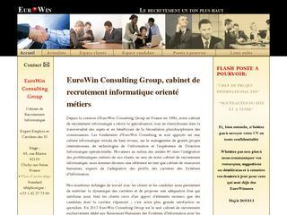 eurowin consulting group cabinets de recrutement executive search. Black Bedroom Furniture Sets. Home Design Ideas