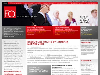 EXECUTIVES ONLINE - DIRIGEANTS INTÉRIM SOLUTIONS