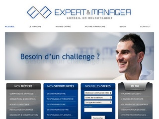 Expert manager cabinets de recrutement executive search - Cabinet de recrutement levallois perret ...