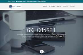 Gkl conseil cabinets de recrutement executive search - Cabinet de recrutement informatique paris ...