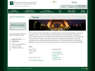 HORTON INTERNATIONAL
