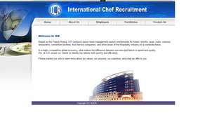 INTERNATIONAL CHEF RECRUITMENT