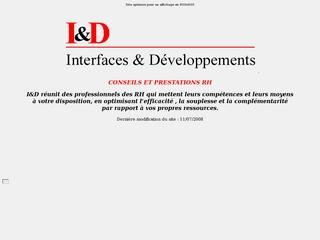 INTERFACES & DEVELOPPEMENTS I&D SEARCH