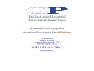 GP INTERNATIONAL