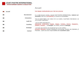 JOUET - PASTRE INTERNATIONAL