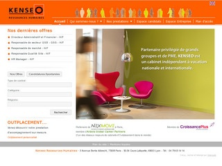KENSEO RESSOURCES HUMAINES - LYON