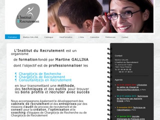 L'INSTITUT DU RECRUTEMENT
