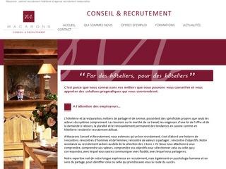 MACARONS - Conseil & Recrutement