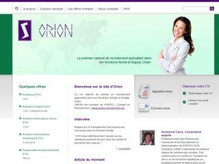 ORION RECRUTEMENT