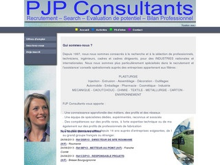 pjp consultants cabinets de recrutement executive search. Black Bedroom Furniture Sets. Home Design Ideas