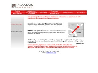 PRAXEOS MANAGEMENT
