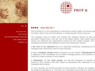 PROT & PARTNERS MANAGEMENT CONSULTANTS