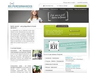 RH PERFORMANCES - PARIS