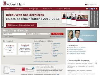 ROBERT HALF « FINANCIAL SERVICES » - PARIS