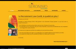 SERONIMO - RECRUTEMENT LOW COST