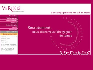 VERINIS SOLUTION RECRUTEMENT - PARIS