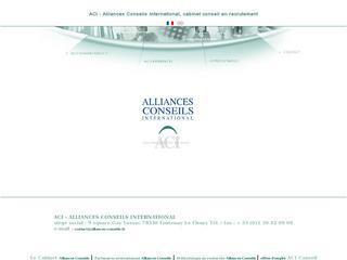 ACI - ALLIANCES CONSEILS INTERNATIONAL