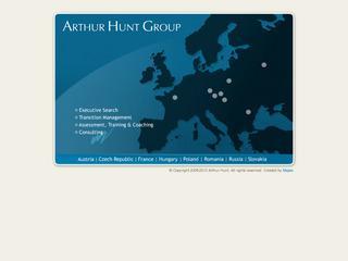 ARTHUR HUNT - EXECUTIVE SEARCH