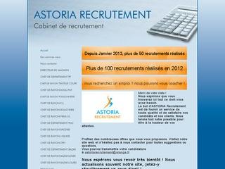ASTORIA RECRUTEMENT