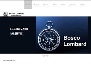 BOSCO LOMBARD EXECUTIVE SEARCH