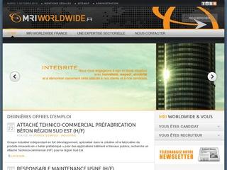 MRI WORLDWIDE FRANCE - BANQUE & FINANCE