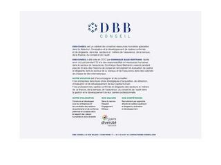 DBB CONSEIL