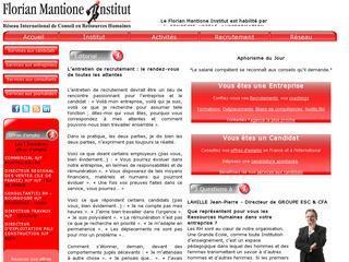 FLORIAN MANTIONE INSTITUT - PAYS DE LOIRE
