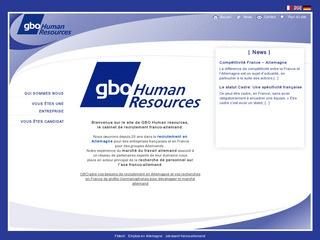 GBO HUMAN RESSOURCES