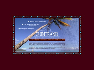 GUINTRAND CONSULTANTS - RECRUTEMENT OUTREMER