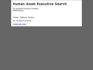 HUMAN ASSET EXECUTIVE SEARCH