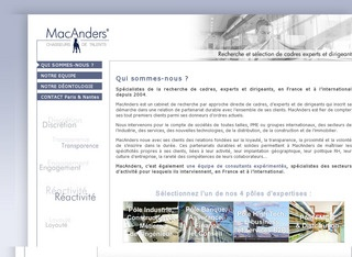 MAC ANDERS - PARIS