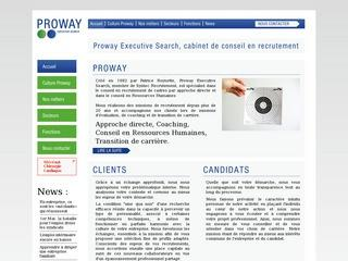 PROWAY EXECUTIVE SEARCH