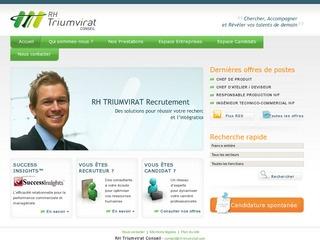 RH TRIUMVIRAT CONSEIL - ILE DE FRANCE
