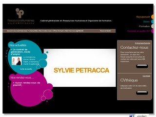 SYLVIE PETRACCA RESSOURCES HUMAINES