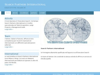 SEARCH PARTNERS INTERNATIONAL - EXECUTIVE SEARCH