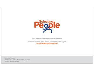SELECTING PEOPLE