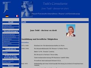 TEDD CONSULTANTS