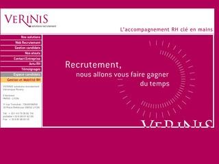VERINIS SOLUTION RECRUTEMENT - PARIS
